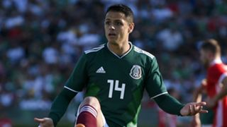 Javier Hernandez Mexico Wales