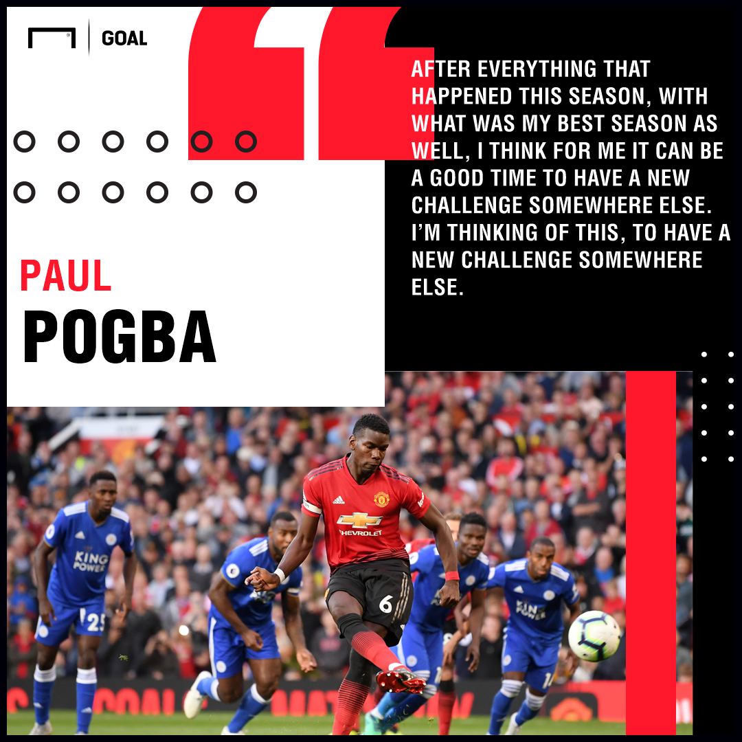Paul Pogba new challenge Manchester United