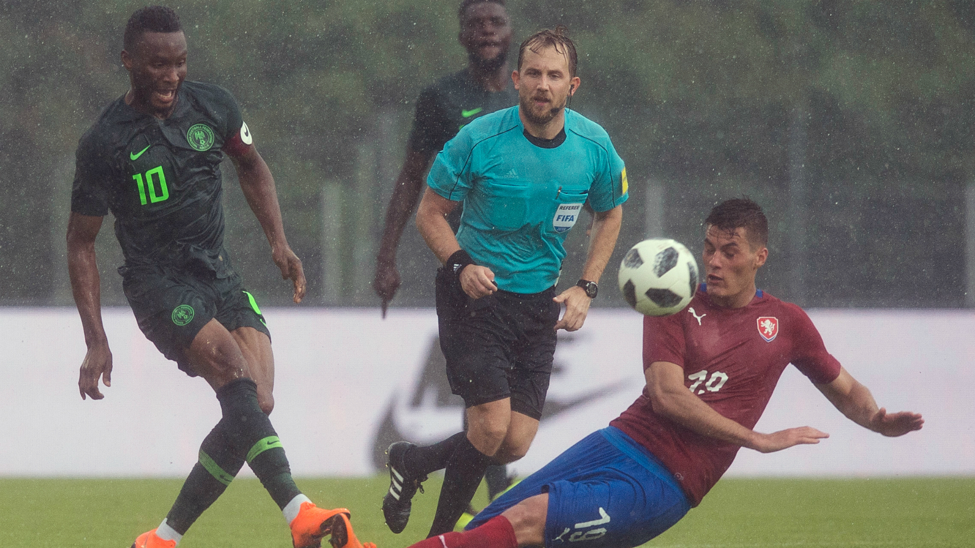 Super Eagles Lose To Czech Republic