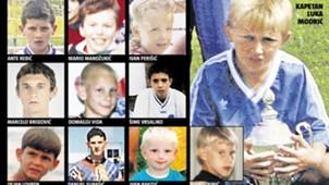 Croatia - young Modric, Mandzukic, Rakitic