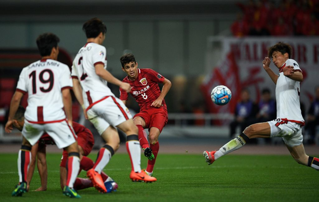 Shanghai SIPG vs FC Seoul; Oscar