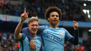 Kevin De Bruyne Leroy Sane Manchester City 06052018