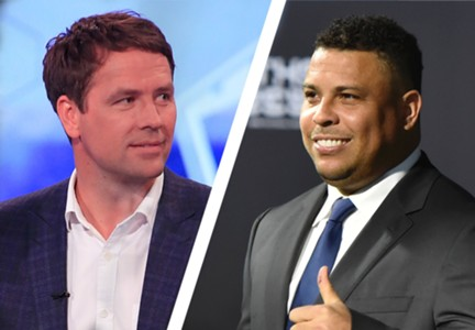 Michael Owen Ronaldo split