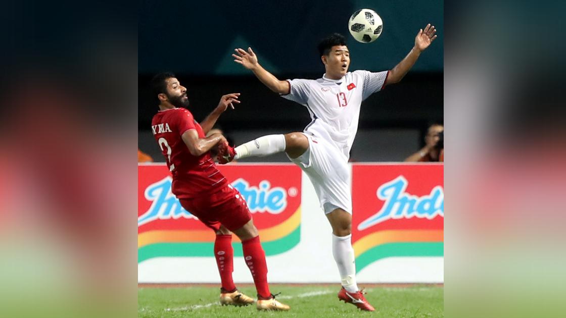 Image result for เวียดนามซัดต่อเวลาดับซีเรีย 1-0 ลิ่วตัดเชือกเอเชียนเกมส์