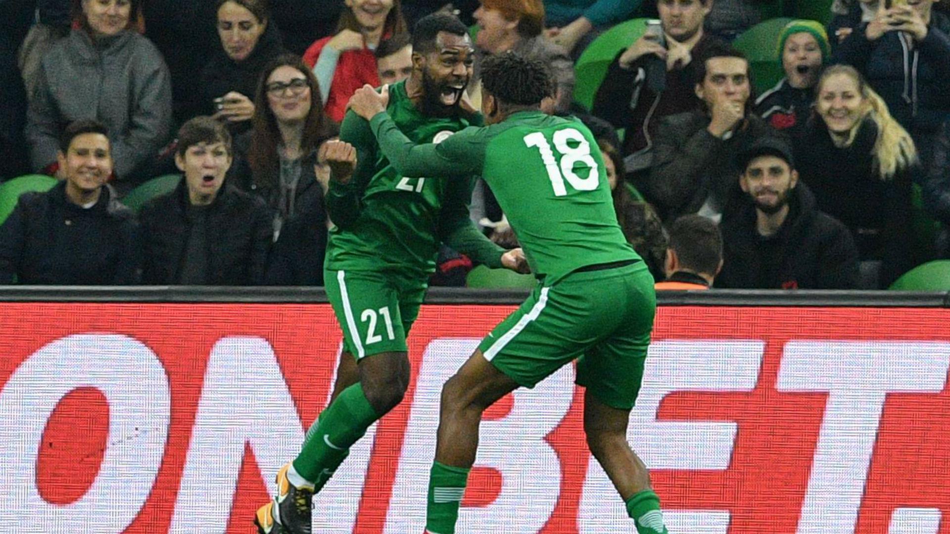 Brain Idowu and Alex Iwobi
