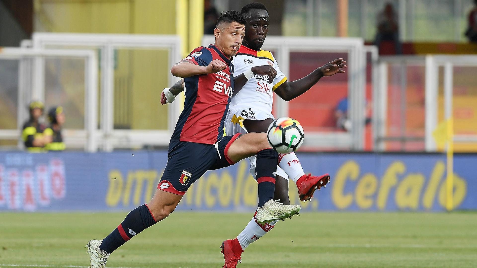 Lapadula Sagna Benevento Genoa