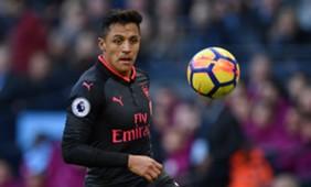 Arsenal - Man City Alexis Sanchez