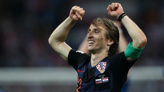 luka modric - russia croatia - world cup - 07072018