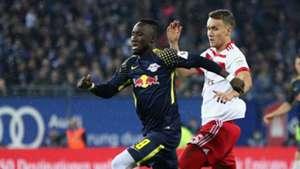 Naby Keita Luca Waldschmidt RB Leipzig Hamburg Bundesliga 892017