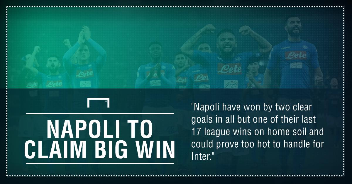 Napoli Inter graphic