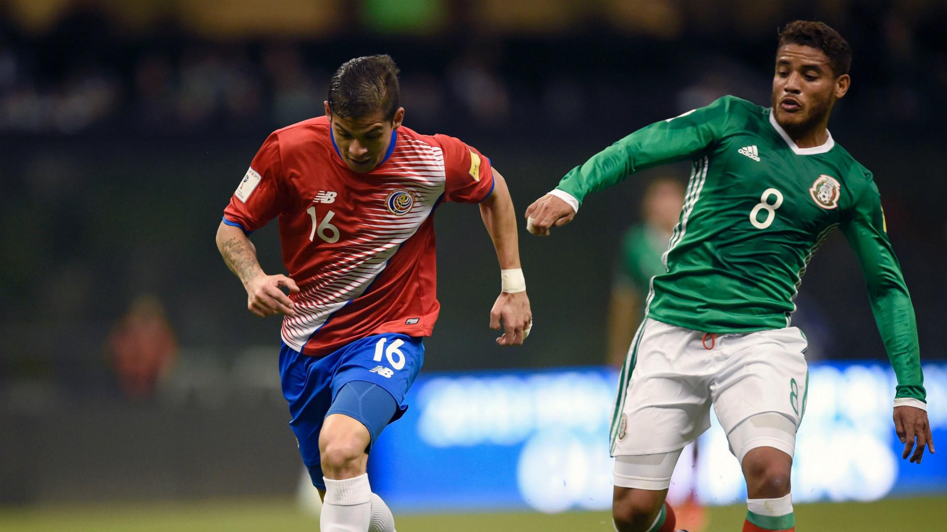 Jonathan dos Santos México Costa Rica