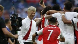 Arsene Wenger Alexis Sanchez Arsenal Chelsea FA Cup final