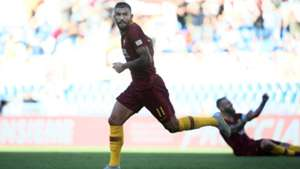Roma celebrates Aleksandar Kolarov vs. Lazio