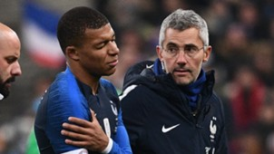 Kylian Mbappe shoulder injury