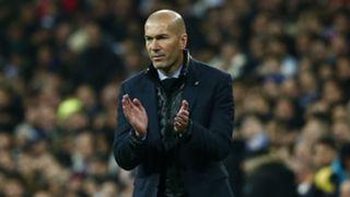 Zinedine Zidane Real Madrid PSG Champions League