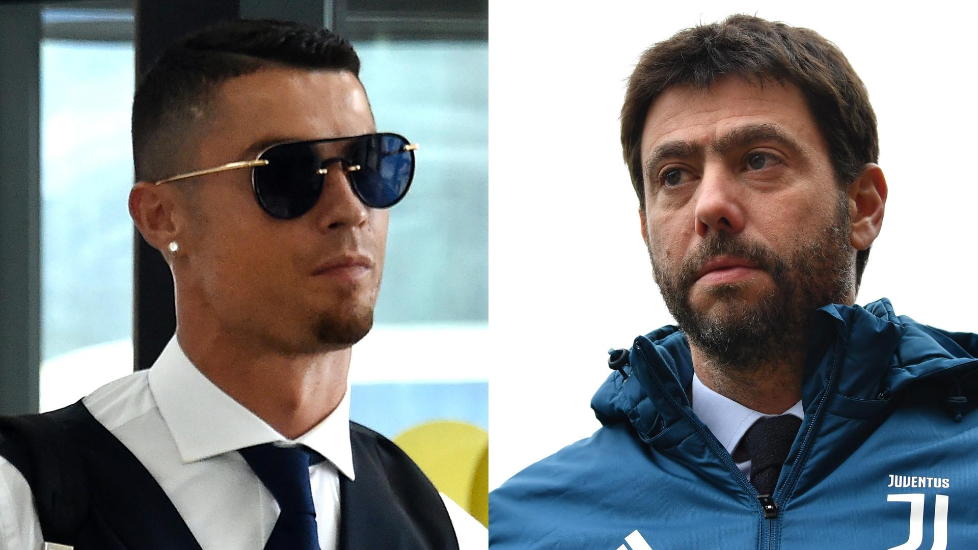 Agnelli va in Grecia a prendere Ronaldo