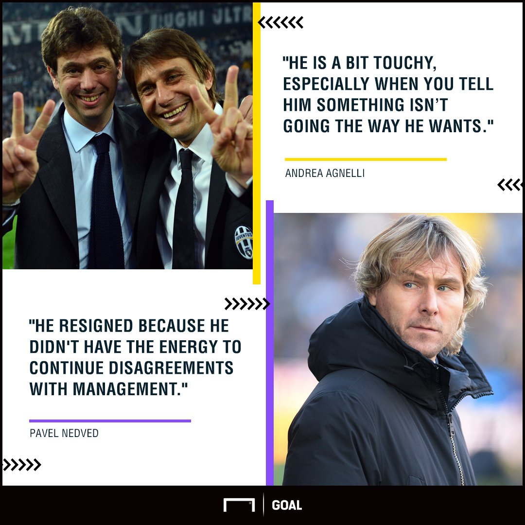 Agnelli Nedved Conte PS