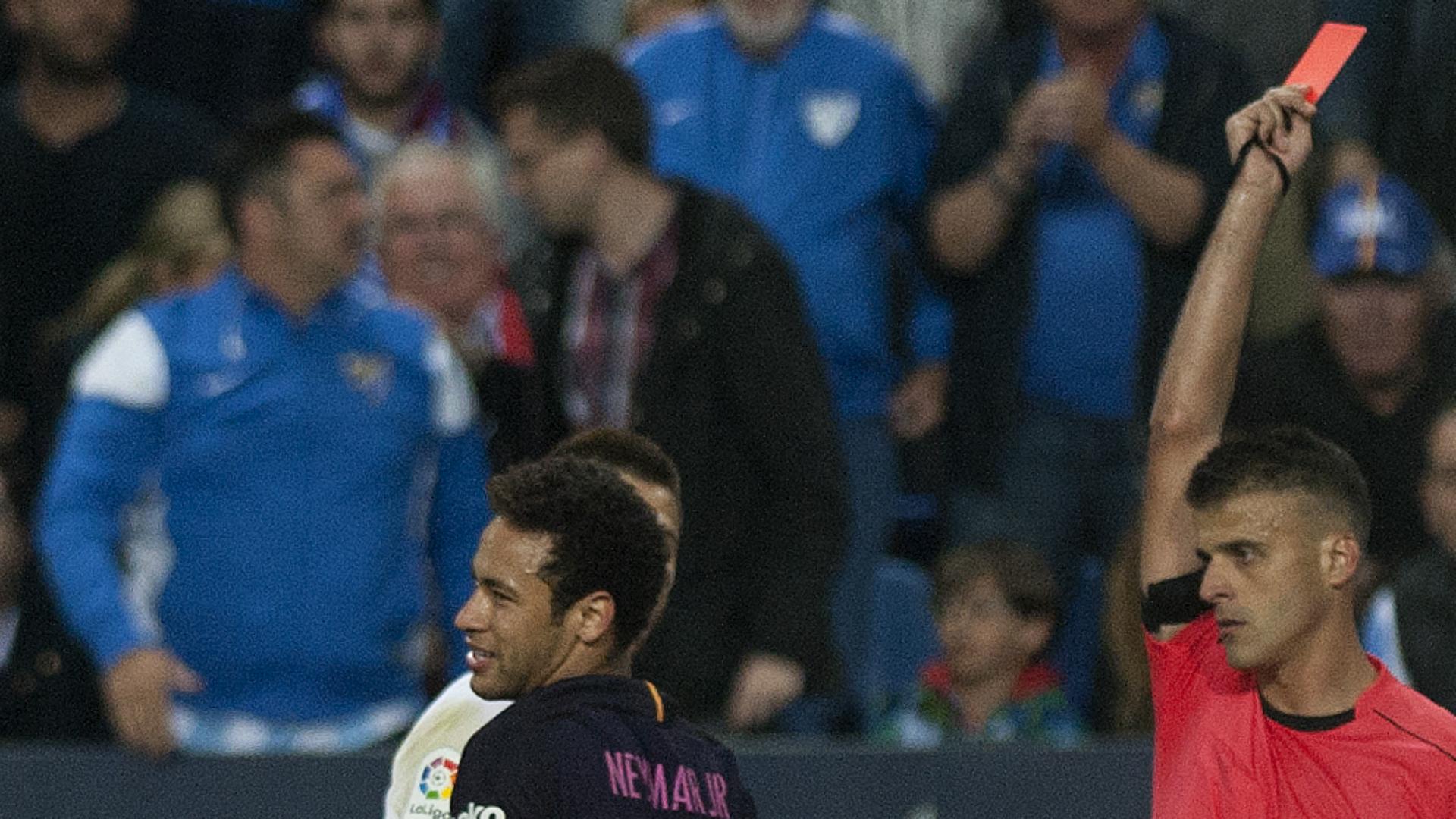 Neymar Malaga Barcelona