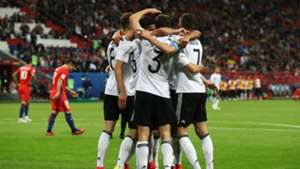 Germany celebrates Chile Confederations Cup