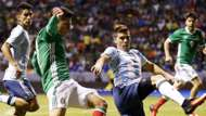 México y Argentina durante un amistoso disputado en 2016