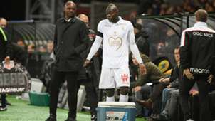 GERMANY ONLY Patrick Vieira Mario Balotelli OGC Nizza
