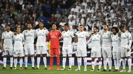 Real Madrid team photo