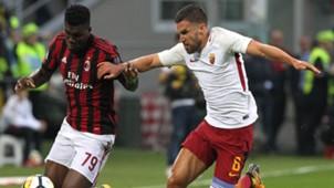 Franck Kessiè Kevin Strootman Milan Roma