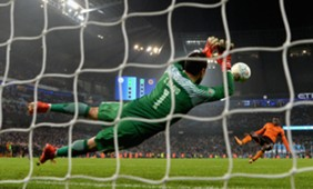 EMBED ONLY Claudio Bravo Manchester City Wolverhampton Wanderers Carabao Cup