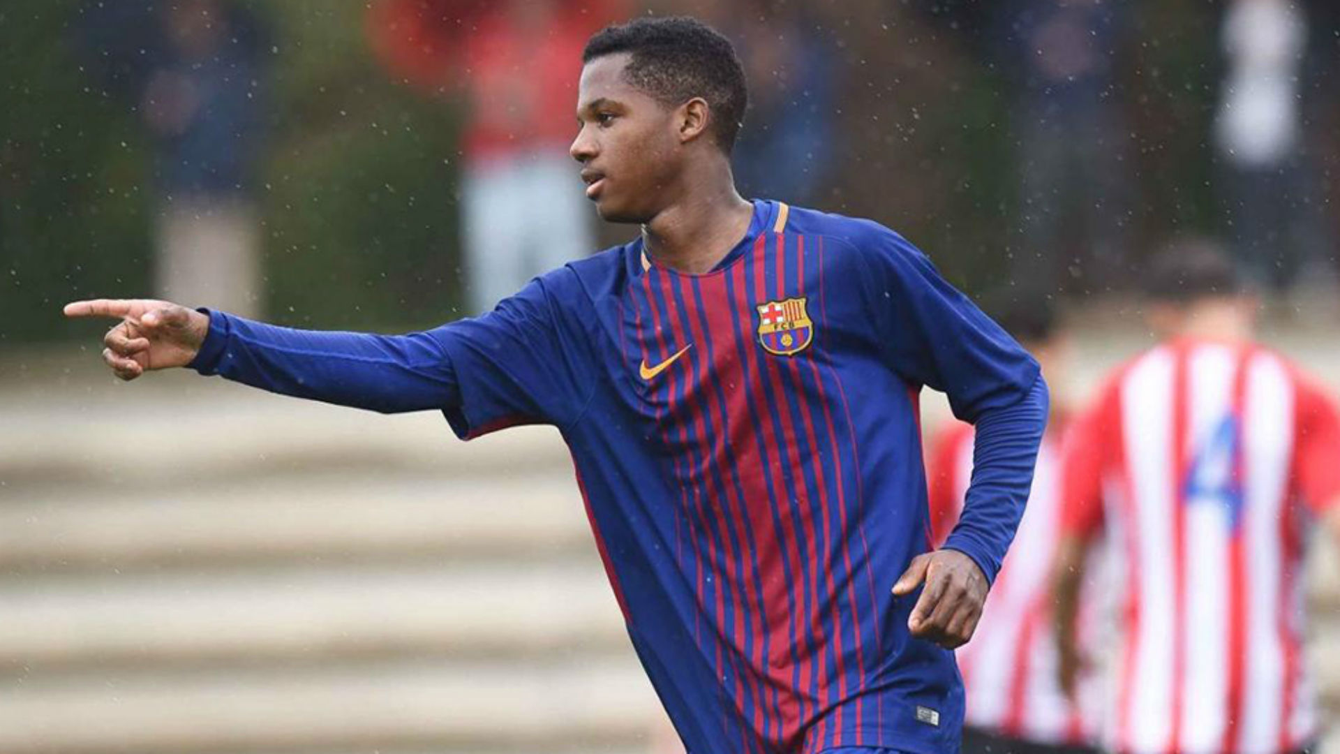 Who is Ansu Fati? Barcelona's 16-year-old debutant's ...