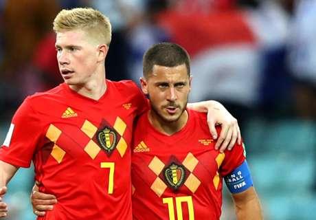 Belgien bei der WM: Wohin mit De Bruyne und Hazard?