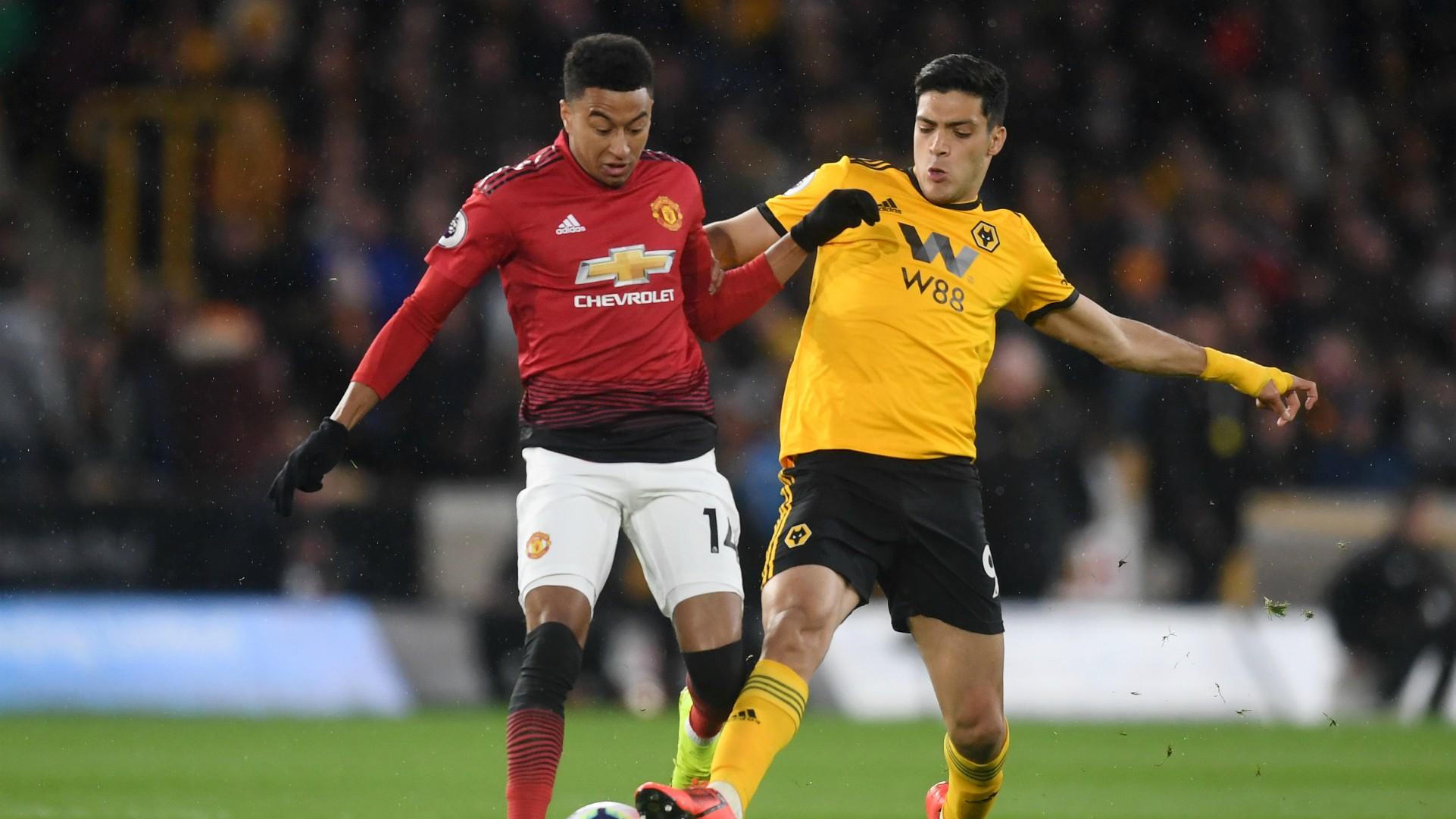 Wolves Manchester United Raúl Jiménez Jesse Lingard