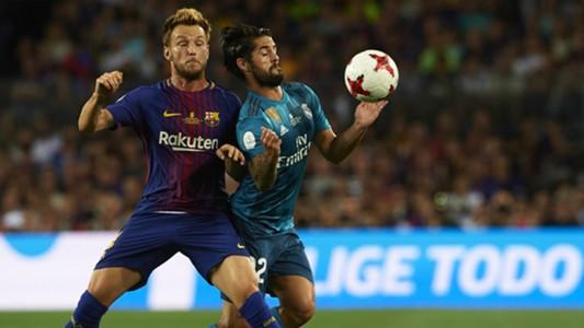 Rakitic Isco Barcelona Real Madrid Supercopa España