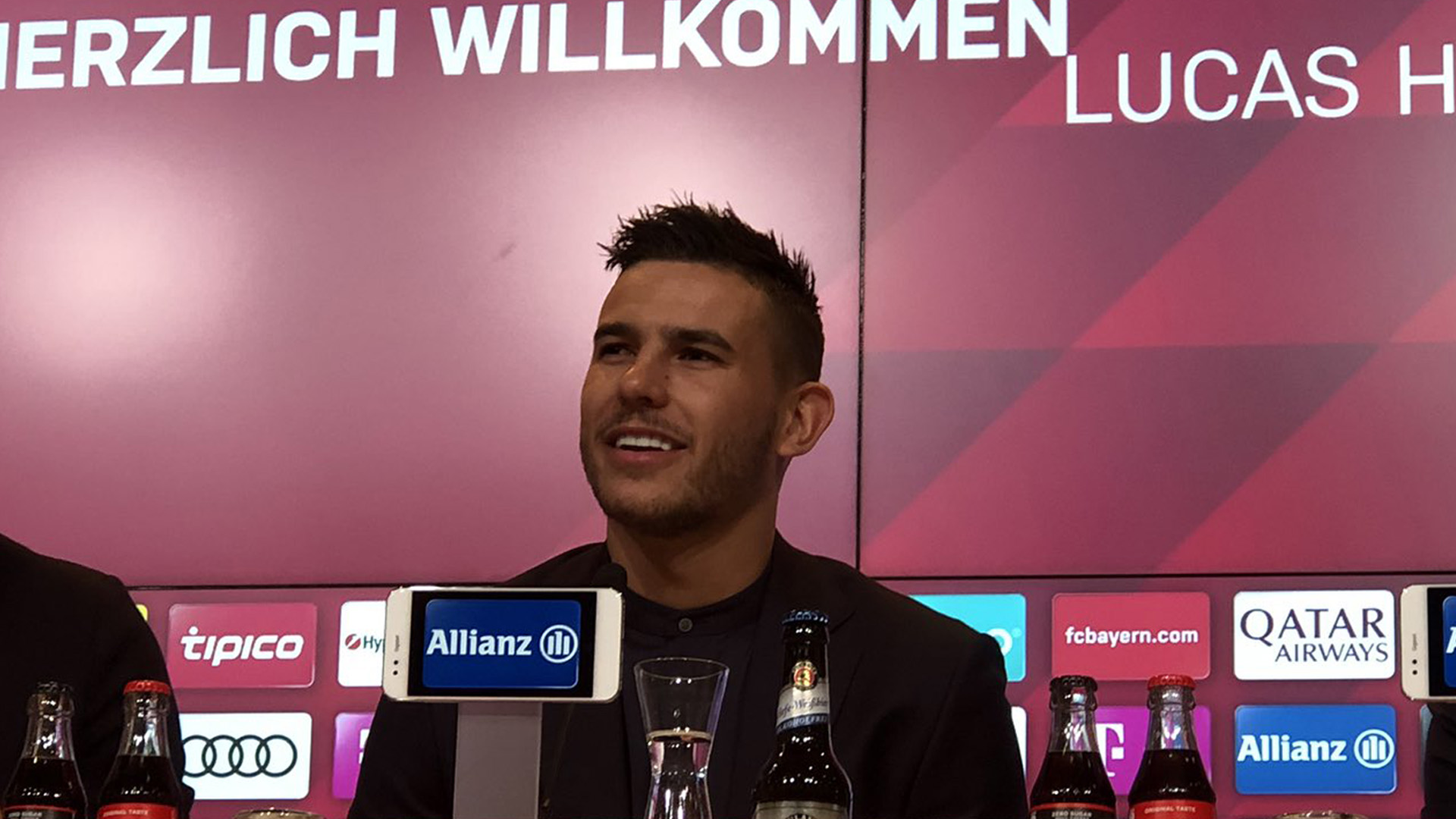 Lucas Hernandez FC Bayern München PK
