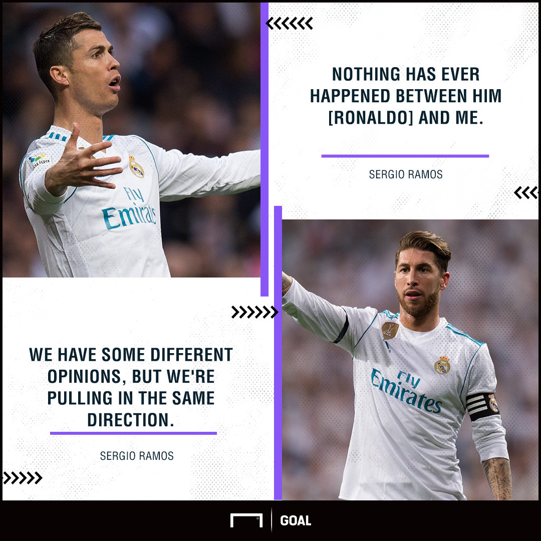 Sergio Ramos Cristiano Ronaldo no rift