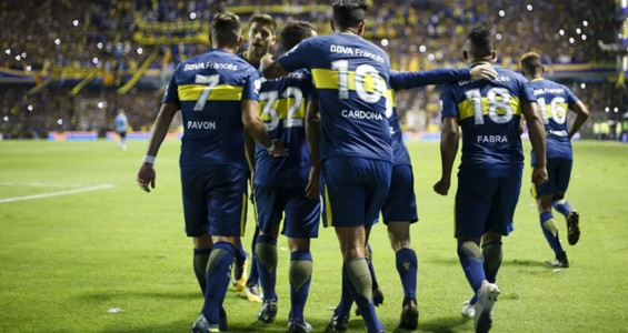 Boca Temperley Superliga 11022018