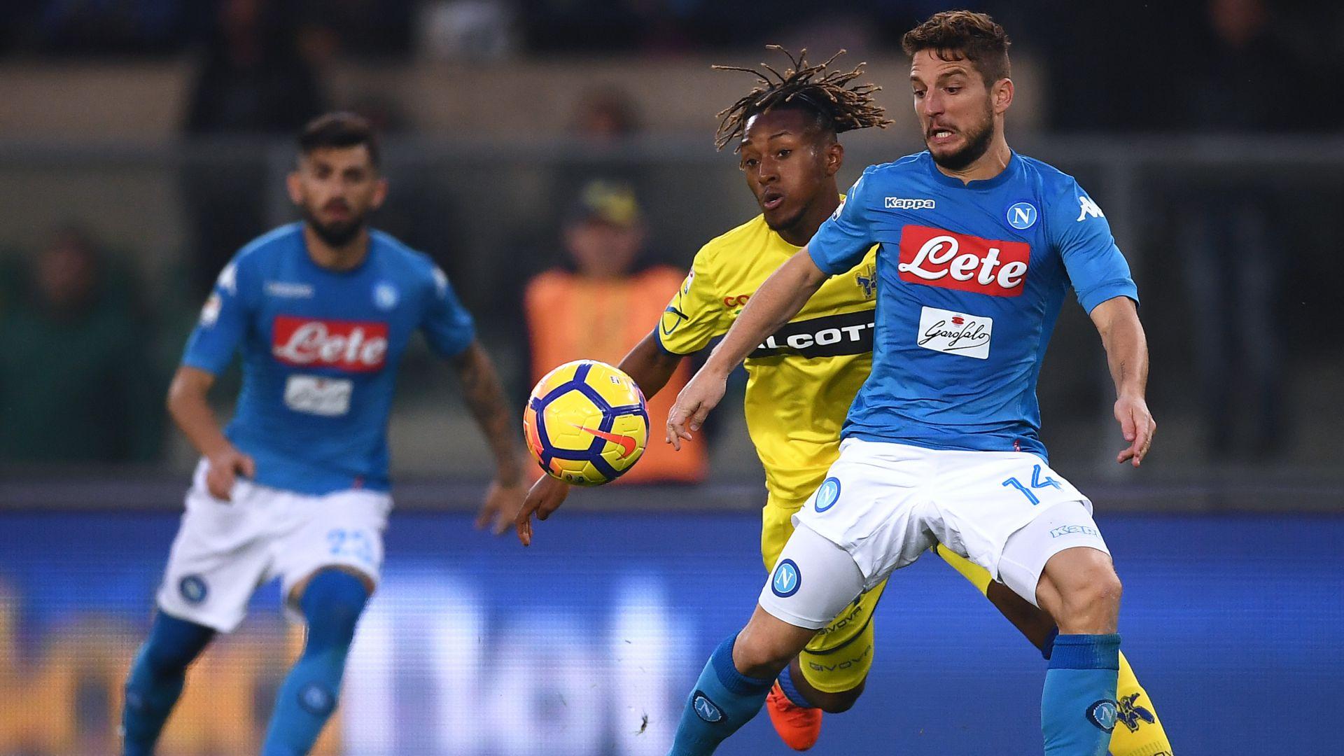 Dries Mertens Chievo Napoli
