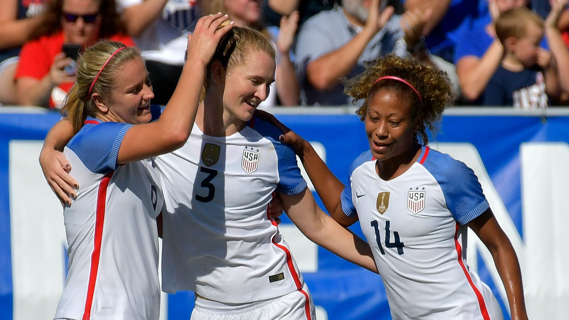 Mewis Scores Twice Early, USWNT Routs South Korea in Friendly