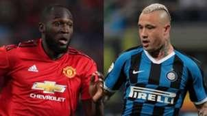 Romelu Lukaku Manchester United Radja Nainggolan Internazionale