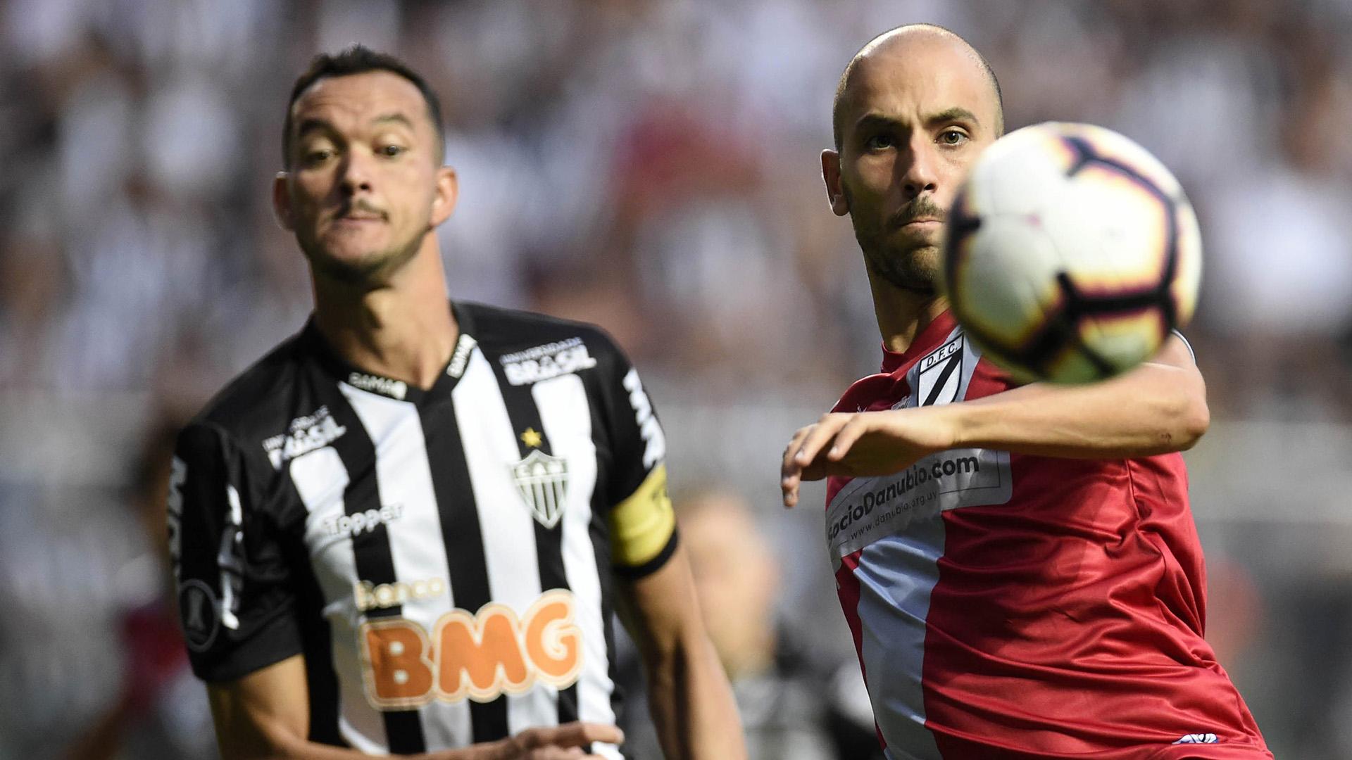 Rever Federico Rodriguez Atlético-MG Danubio Copa Libertadores 12022019