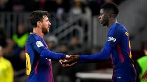 Messi Dembele Barcelona Celta de Vigo Copa del Rey 11012018