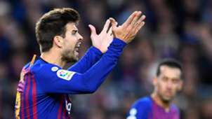 Gerard Pique Barcelona Real Madrid LaLiga 28102018