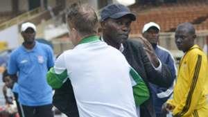 Sammy Omollo of Posta Rangers and Gor Mahia coach.