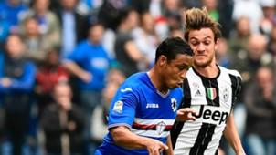 Daniele Rugani Luis Muriel Sampdoria Juventus Serie A
