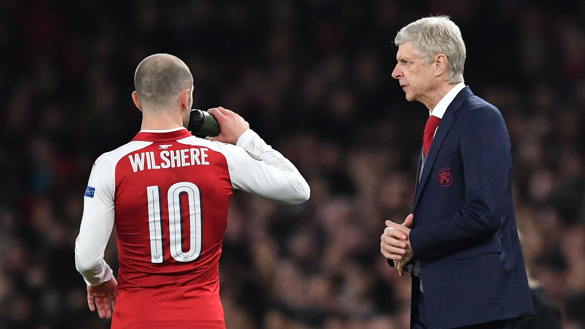 Wilshere Wenger Arsenal Milan
