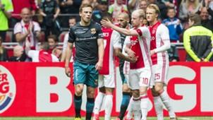Xandro Schenk, Ajax - Go Ahead Eagles, Eredivisie, 05072017