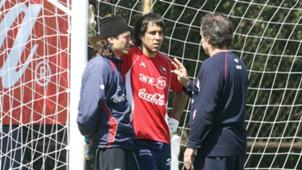 Claudio Bravo, Marcelo Bielsa. Selección Chile 16102007