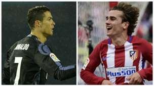 Cristiano Ronaldo Antoine Griezmann GFX