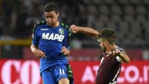 Gregoire Defrel, Torino, Sassuolo, Serie A, 05282017