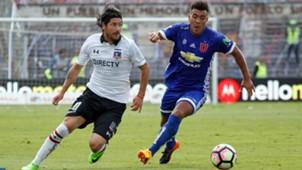 Jaime Valdés y Gonzalo Espinoza Colo Colo Universidad de Chile 080417