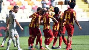 Yeni Malatyaspor goal celebration vs Caykur Rizespor 09222018